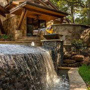 Pleasant Forest European Style Floor Plan Waterfall
