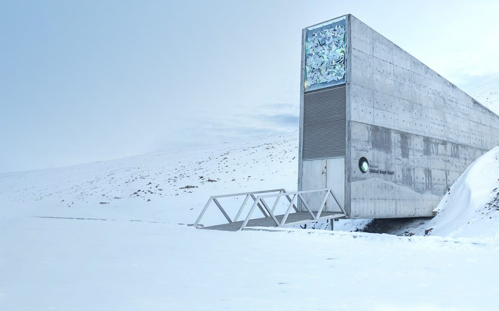 Architecture Around the World  Svalbard Global Seed Vault