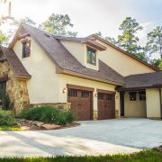 Pleasant Forest European Style Floor Plan Outdoor Garage